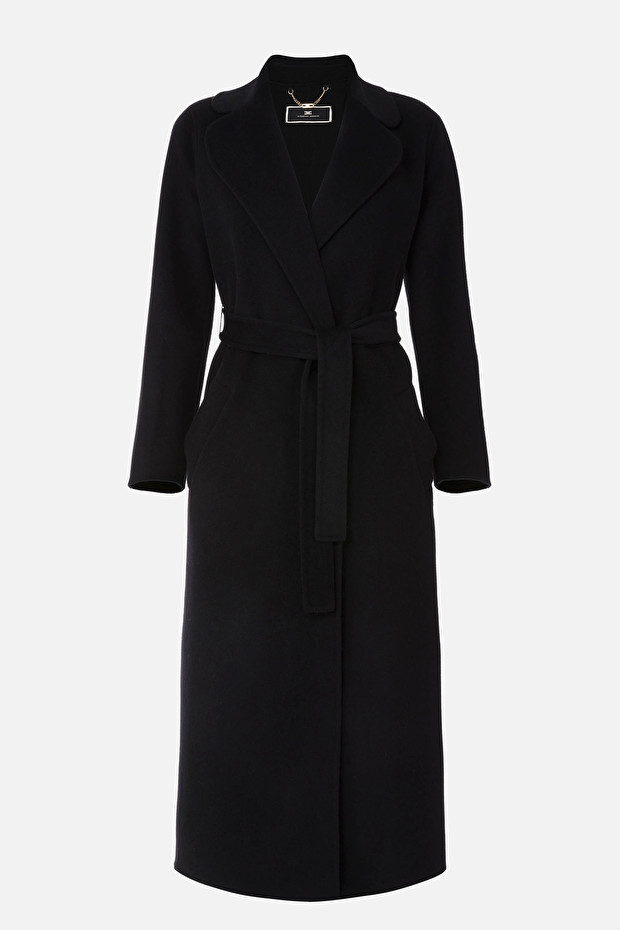 Wool and cashmere coat by Elisabetta Franchi