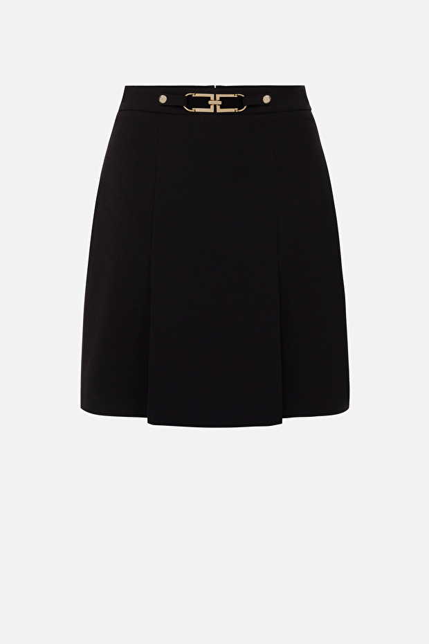 Short skirt with double-C logo