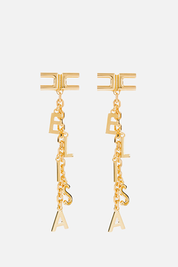 Elisabetta charms pendant earrings