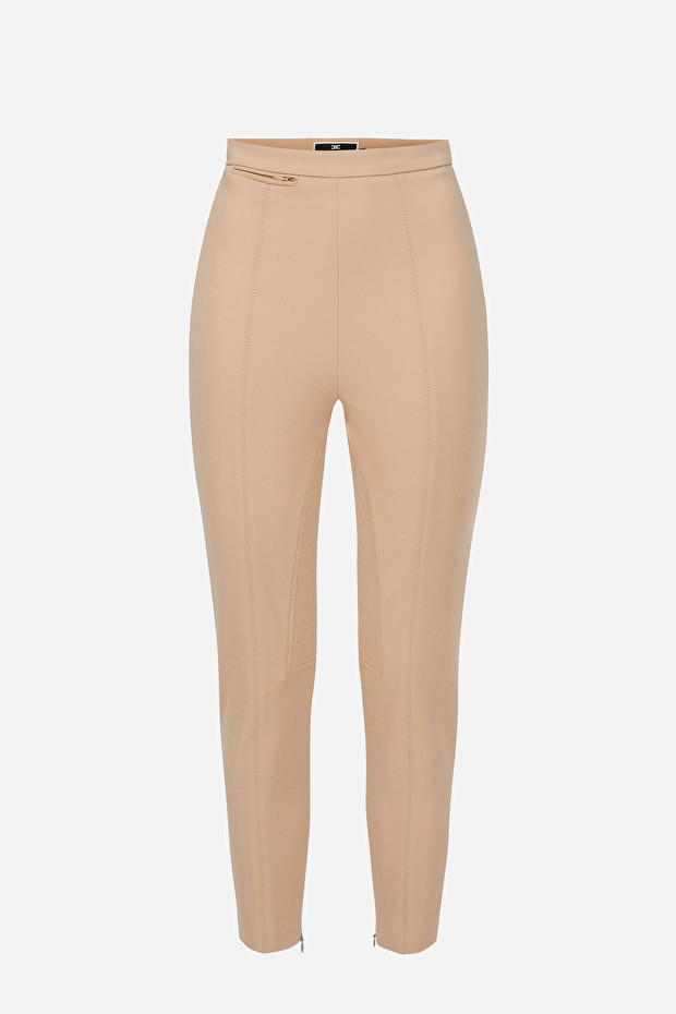 Stretch equestrian style trousers