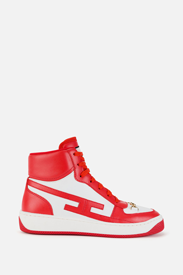 High-top sneakers by Elisabetta Franchi