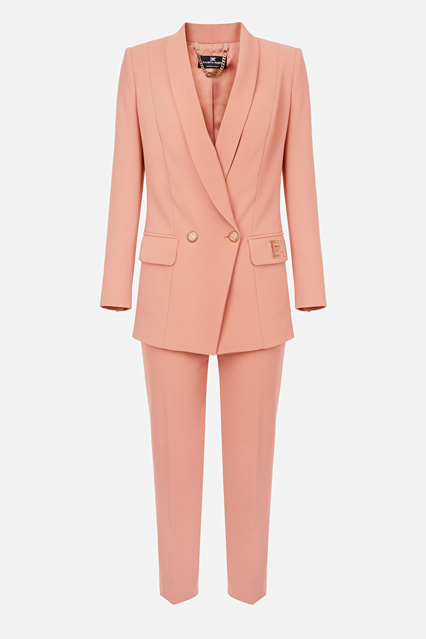 Elisabetta Franchi embroidered suit